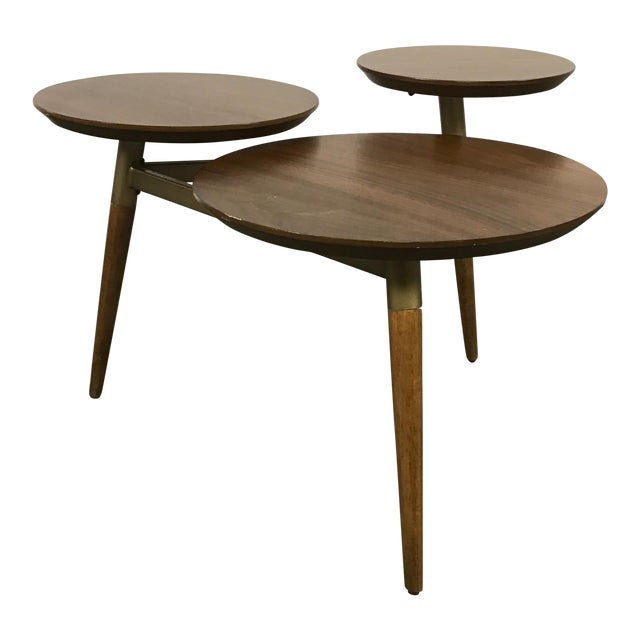 West Elm Mid-Century Modern Tri Surface Coffee Table - Image 1 of 7