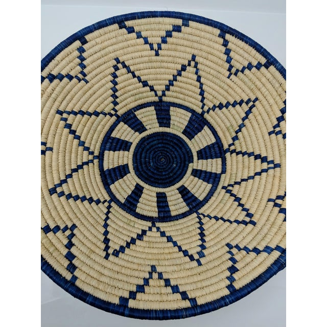2010s Large Woven Ugandan Basket For Sale - Image 5 of 8