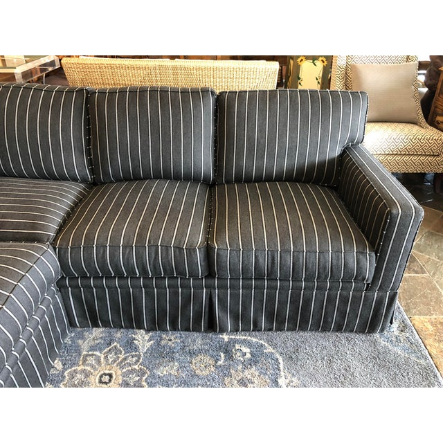 Textile New Custom Jasper Sectional by California Sofa For Sale - Image 7 of 13