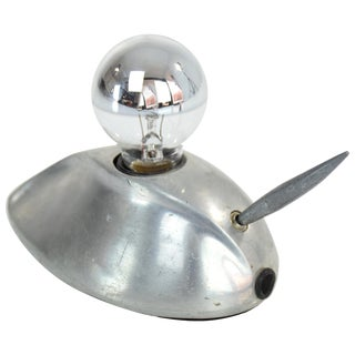Vintage Steel Mouse Lamp, 1960s-1970s For Sale