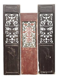 Image of Asian Antique Paneling