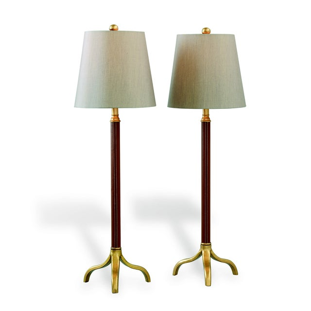 Portobella Buffet Lamps - a Pair For Sale - Image 9 of 9