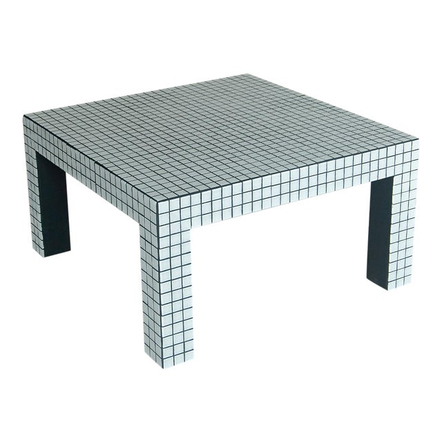 Superstudio Coffe Tiled Table For Sale