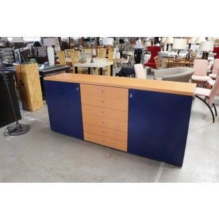 Modern Orange and Blue Buffet by Castelijn Preview