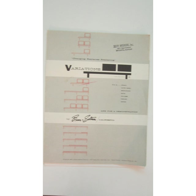 "Martin Borenstein ""Variations"" Modular Living Room Set - Set of 3 - Image 8 of 12"
