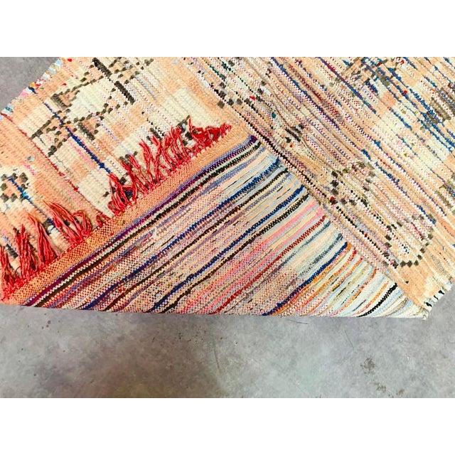 Vintage Berber Handmade Rug- 2′9″ × 4′1″ For Sale - Image 10 of 11