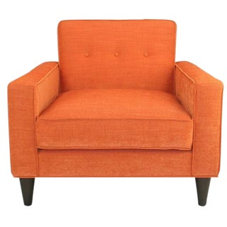 The Ziggy Mid Century Lounge Chair For Sale
