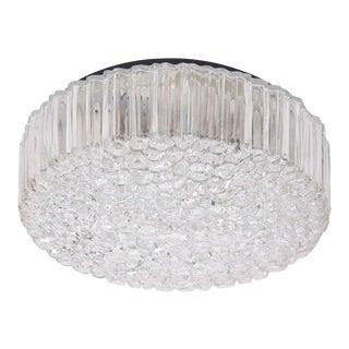 1 of 4 Large Helena Tynell Glass Flush Mount or Sconce for Glashütte Limburg For Sale
