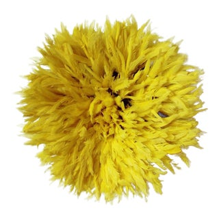 African Yellow Juju Hat For Sale