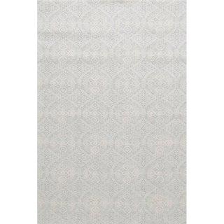 Sample - Stark Studio Rugs Alessi Rug in Light Silver For Sale