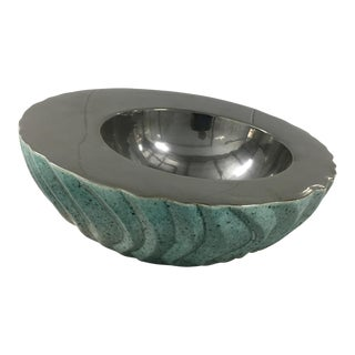 Contemporary Metallic Bowl For Sale