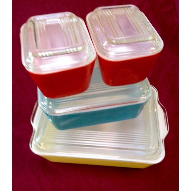 Mid-Century Pyrex Food Storage & Serving Dishes - Set of 4 - Image 6 of 6
