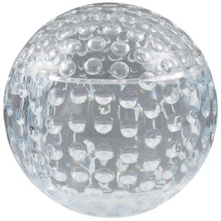 Modern Lucite Golf Ball Design Ice Bucket