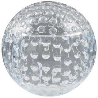 Modern Lucite Golf Ball Design Ice Bucket