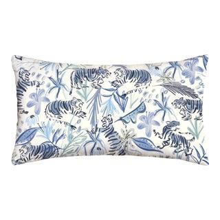 Pepper Frida Blue Lumbar Pillow For Sale
