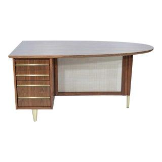 1930s Mid-Century Rosewood Desk by Miller Desk & Safe Company For Sale