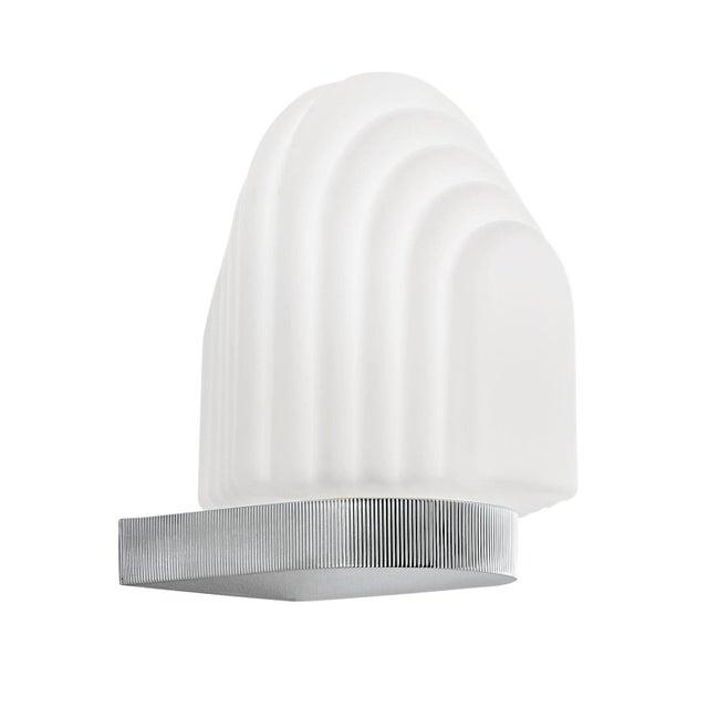 Art Deco Art Deco Style Polished Chrome Bathroom Wall Light IP44 For Sale - Image 3 of 3