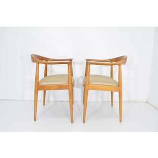 Pair of Hans Wegner Round Chairs Preview