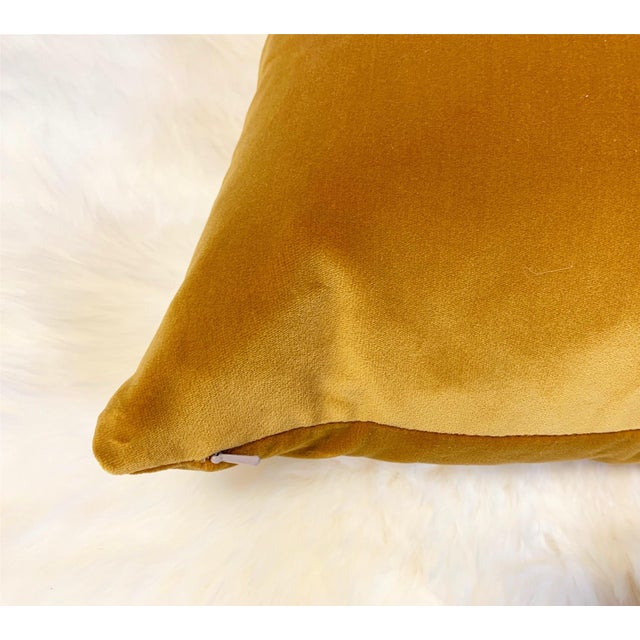 Beautiful pillow crafted in our Saint Louis studio. Loro Piana's cotton velvet is so luxurious. The Ginger Alchemy...