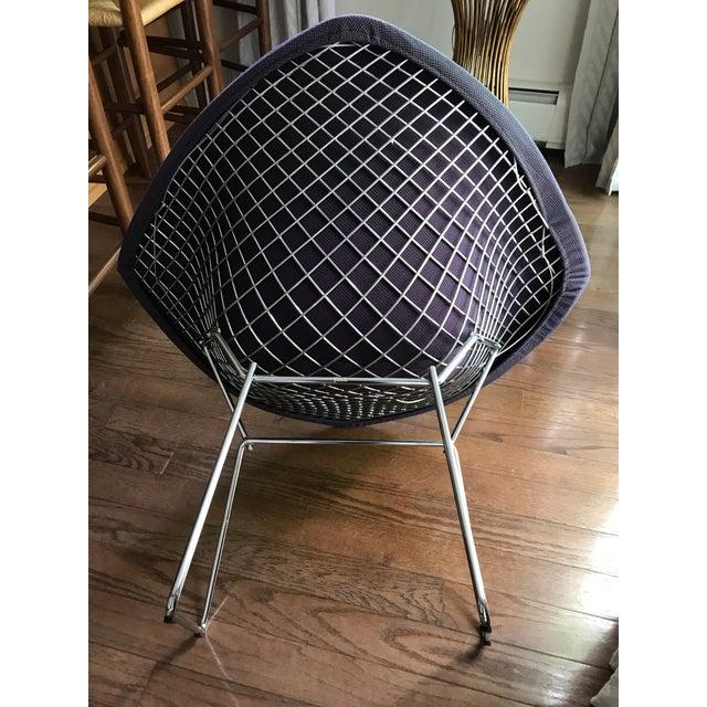 Bertoia Knoll Mid-Century Modern Chrome Diamond Chair - Image 7 of 9
