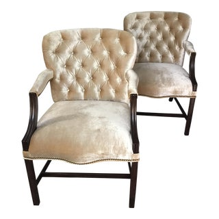Rose Tarlow Melrose House Dining Chairs - Set of 6 For Sale