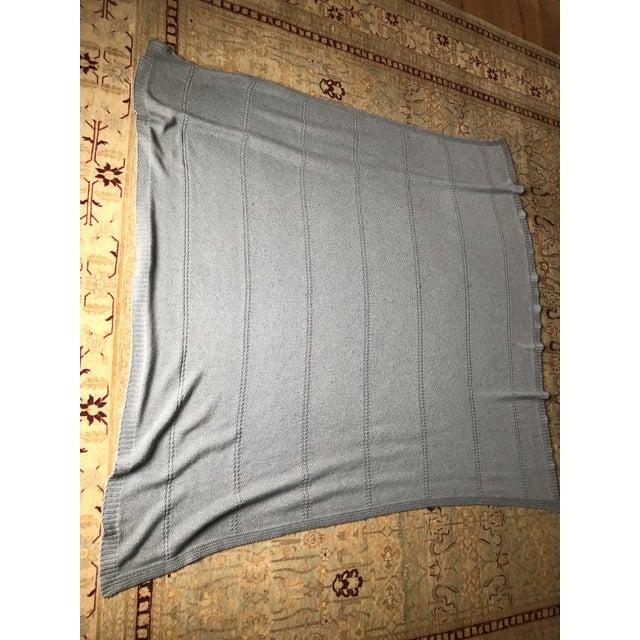 Comfortable Barbara Barry Throw 80% Acrylic 10% Cashmere 10% Wool