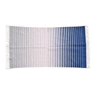 Nettle Rug, 5x8, Light Gray & Blue For Sale