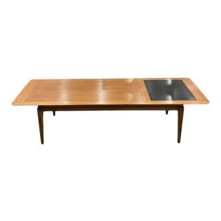 1960s Mid Century Modern American Walnut Coffee Table For Sale