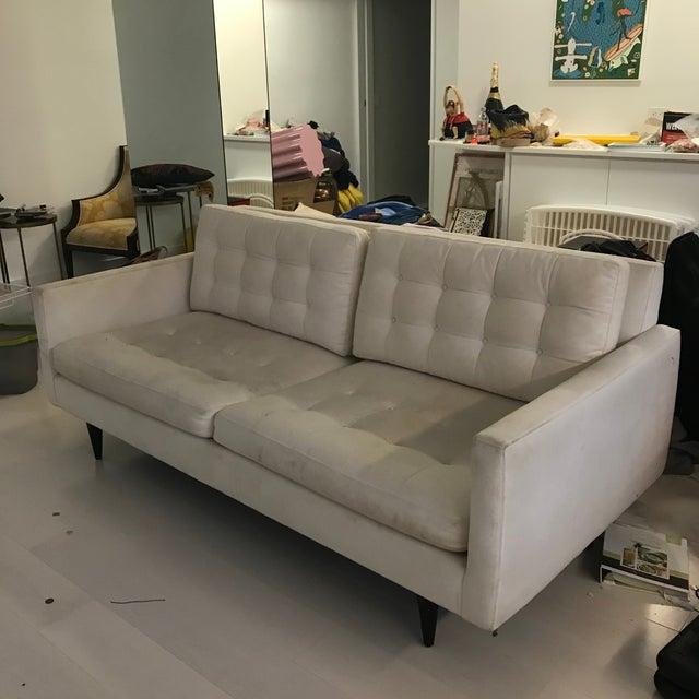 Modern Crate Barrel Petrie Apartment Sofa Chairish