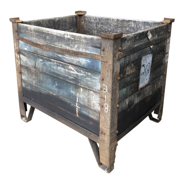 1900's American Industrial Planter For Sale