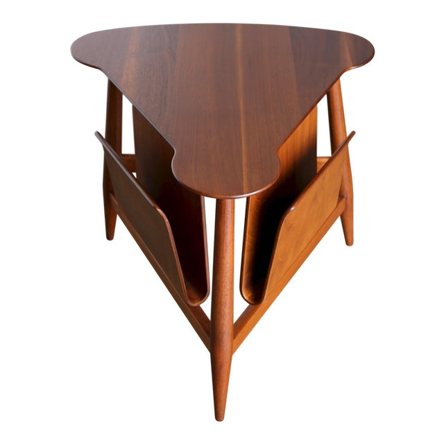 Mid Century Edward Wormley Model 5313 Magazine Table For Sale