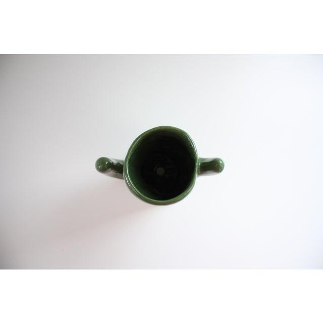 Green Ceramic Saguaro Planter - Image 5 of 6