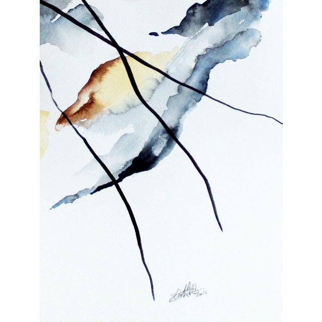 """Eh Sherman """"Calbuco"""" Original Painting - Image 3 of 4"""