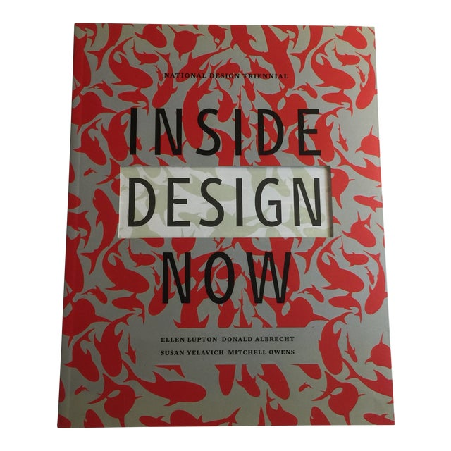 2003 Inside Design Now Book by Donald Albrecht Cooper Hewitt For Sale