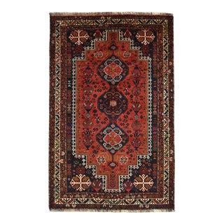 Vintage Persian Shiraz Rug For Sale