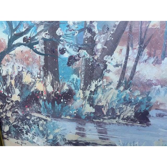 Lee Reynolds Vanguard Studios Oil Painting For Sale - Image 6 of 10