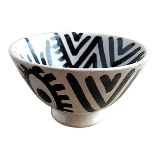 Moroccan Modern Footed Bowl, Berber For Sale