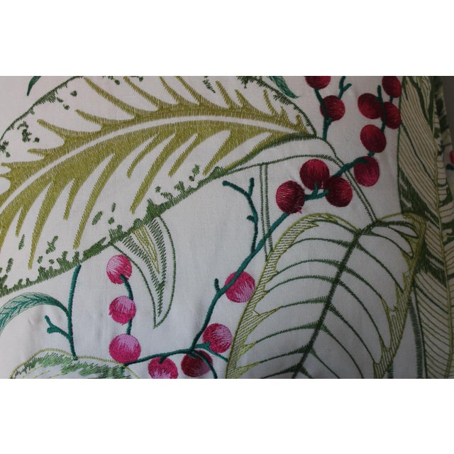 2010s Osborne & Little Sumatra Fabric Pillows - A Pair For Sale - Image 5 of 8
