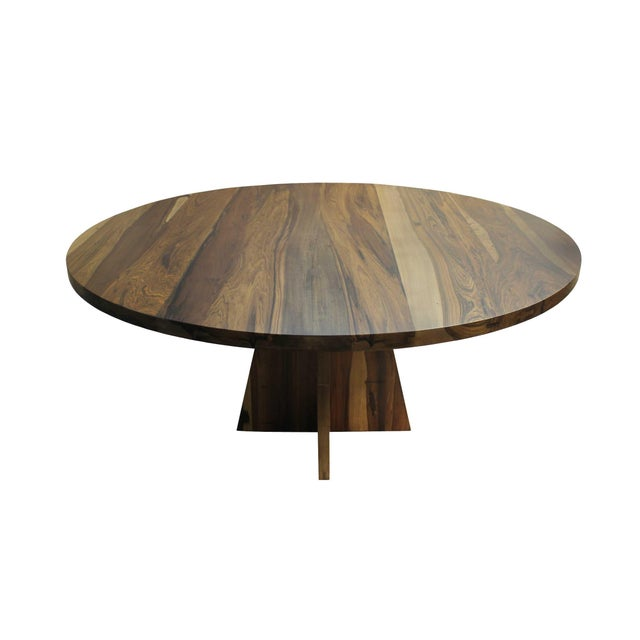 The Luca Table is one of Costantini's signature and most specified pieces. It is shown in Argentine Rosewood, a species...