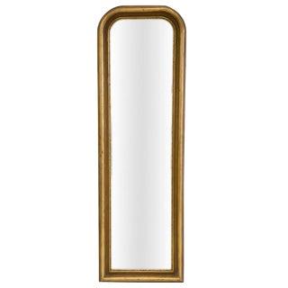 Gilded Louis Phillippe Style Floor Mirror