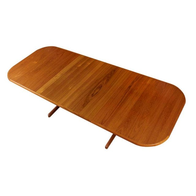Mid Century Modern Danish Teak Rounded Edge Table - Image 1 of 5