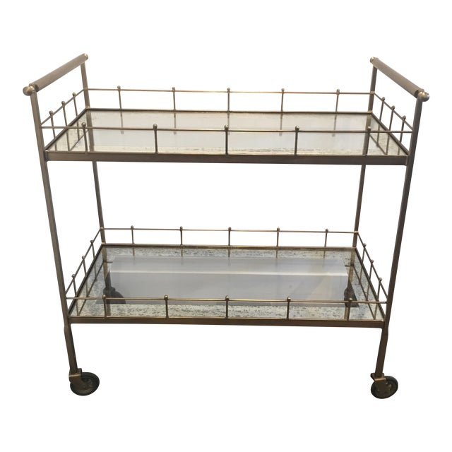 Arteriors Home Lisbon Bar Cart For Sale