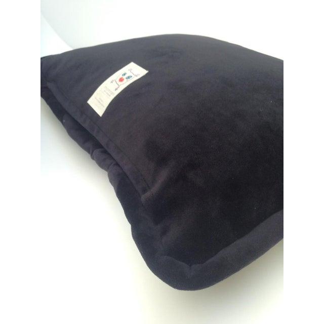 Custom Designed Butterfly Garden Pillow For Sale - Image 6 of 7