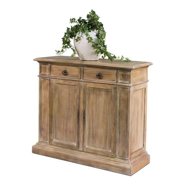 Sarreid Ltd. Transitional Mahogany Cabinet - Image 3 of 4