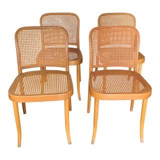1970s Vintage Josef Hoffmann for Stendig Chairs- Set of 4 For Sale