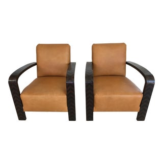 Argentinian Deco Armchairs - a Pair For Sale