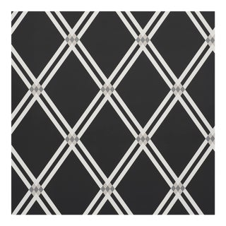 Sample - Schumacher X David Oliver AsoloWallpaper in Charcoal