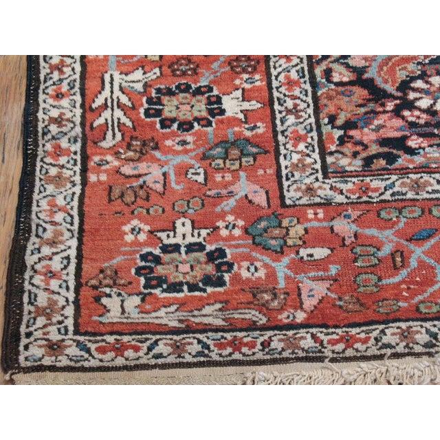 Cotton Antique Karadja Rug For Sale - Image 7 of 9