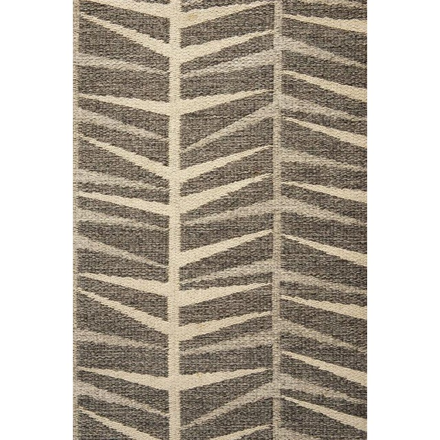 Vintage Ingrid Dessau Flat-Weave Swedish Carpet - Image 3 of 5