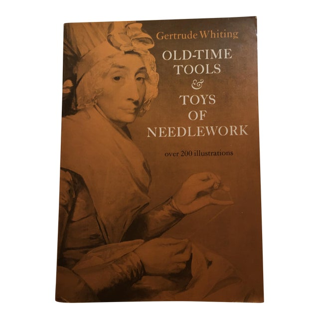 'Old Time Tools & Toys of Needlework' Book For Sale